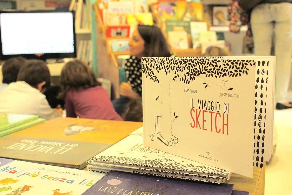"""Come nasce un albo illustrato- """"Il viaggio di Sketch"""""""