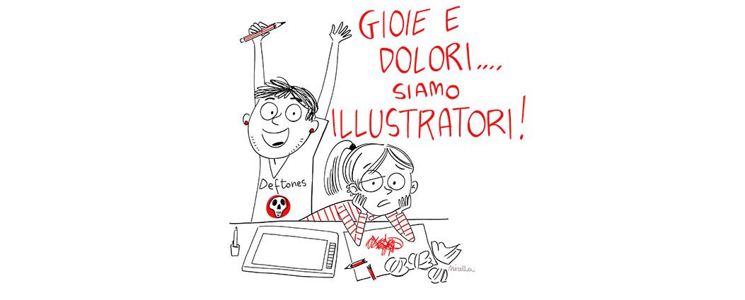 L'eterno ciclo degli illustratori freelance