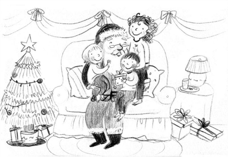 Fonte: Proposta (rifiutata) per cartolina natalizia