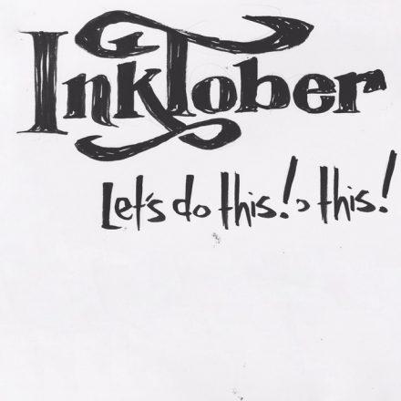 Inktober – il mese dell'inchiostro