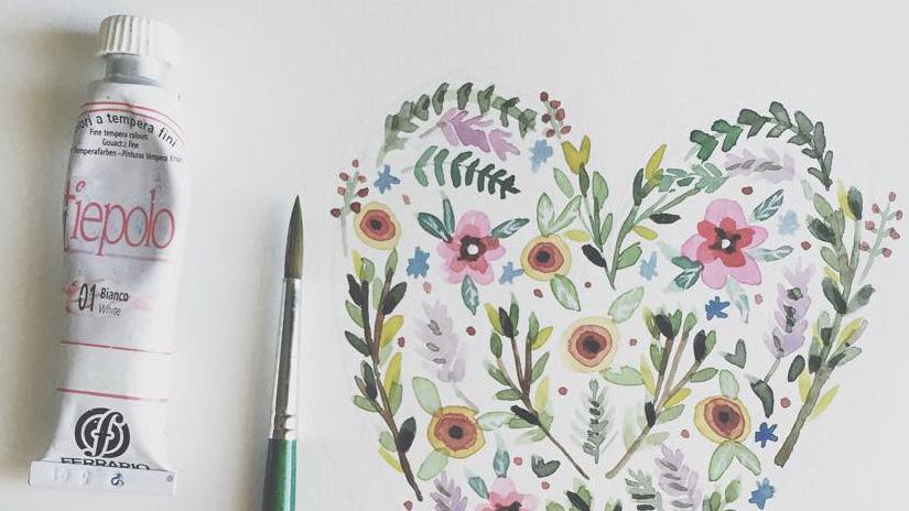 Illustrare ad acquerello #1 : tre consigli per iniziare