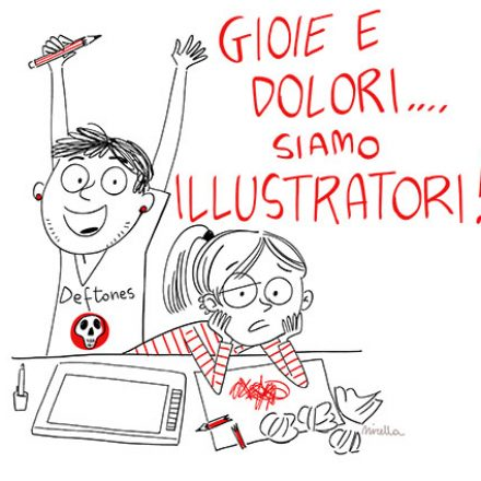 L'eterno ciclo degli illustratori freelance