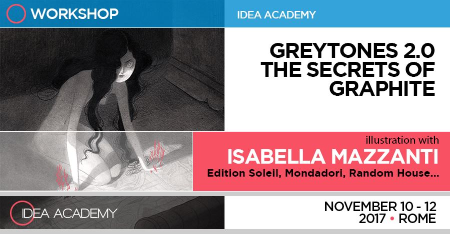 Greytones 2.0 I segreti della grafite – di Isabella Mazzanti