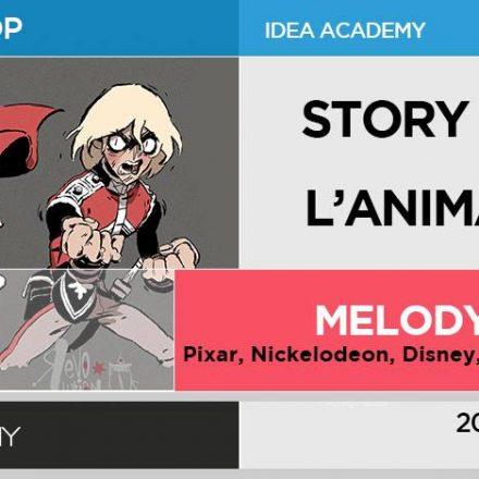 Story Design per l'animazione - di MELODY CISINSKI AKA