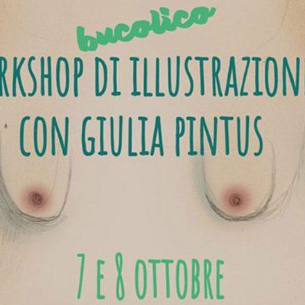 Workshop di illustrazione - con Giulia Pintus