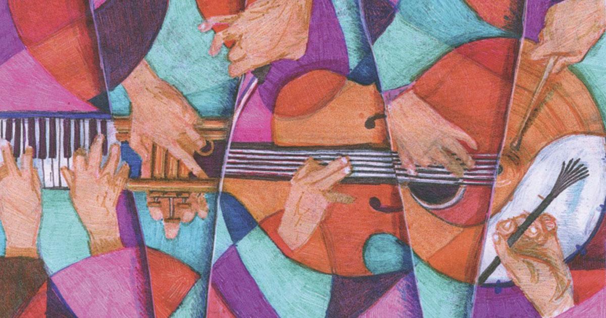 Farben – Disegnare il jazz