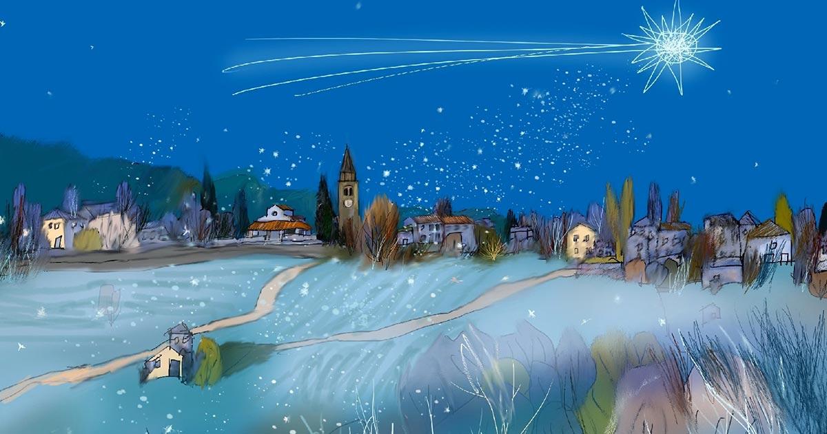 Illustrare il Natale – con Arcadio Lobato