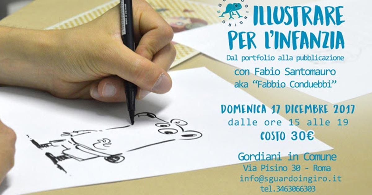 Illustrare per l'infanzia: dal Portfolio alla Pubblicazione – con Fabio Santomauro