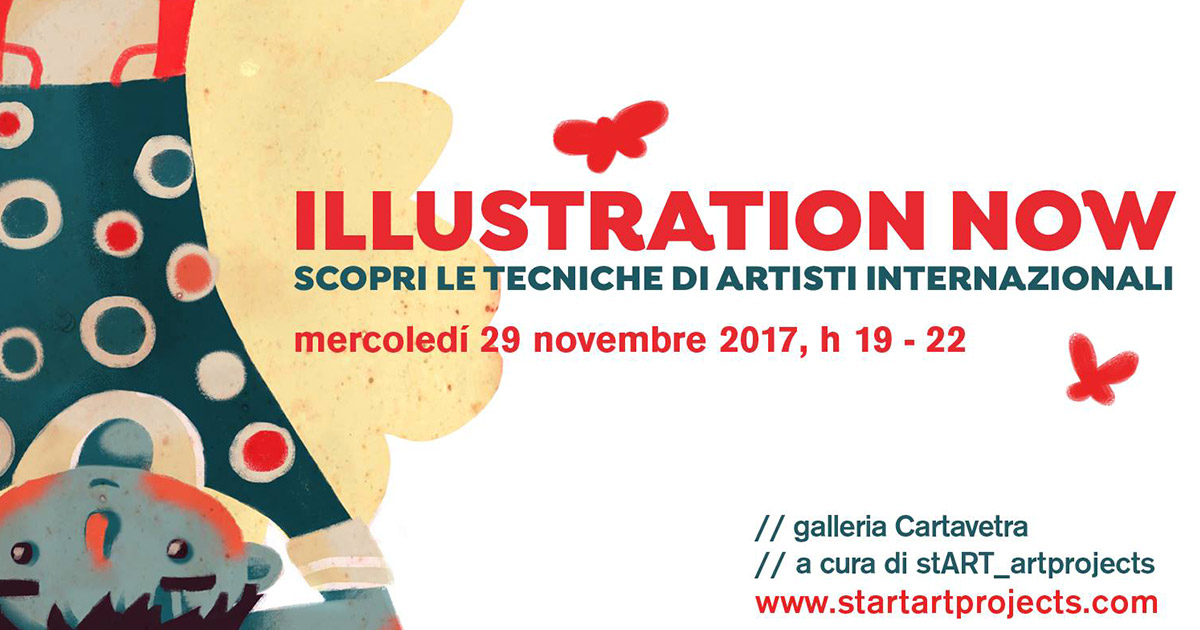 Illustration Now – workshop d'illustrazione digitale – con Marica Kicusic