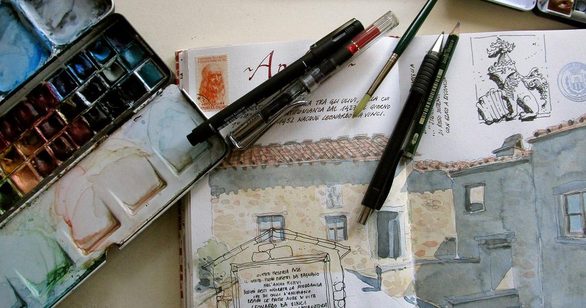 Introduzione al Disegno di Viaggio – con Gabriele Genini e Lorenzo Montagni