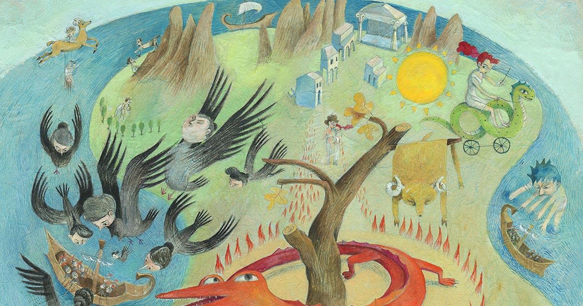 Più mista che mai! Un'illustrazione e le sue colorate variazioni – con Eva Montanari