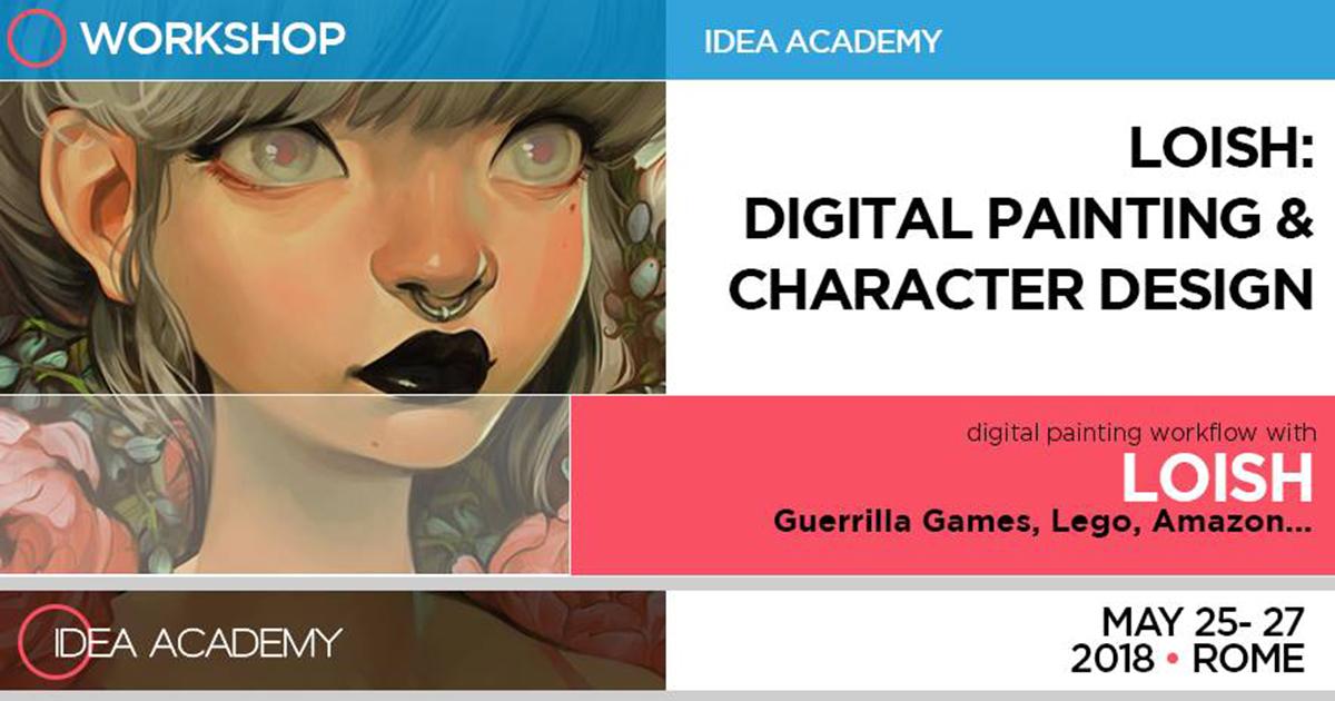 Digital Painting & Character Design – con Loish