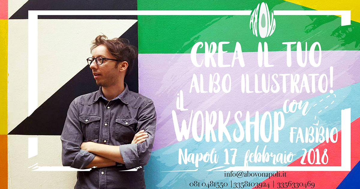 Crea il tuo albo illustrato! – con Fabio Santomauro