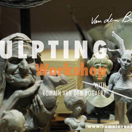Sculpting workshop in Milano : Female beauty - con Romain Van den Bogaert