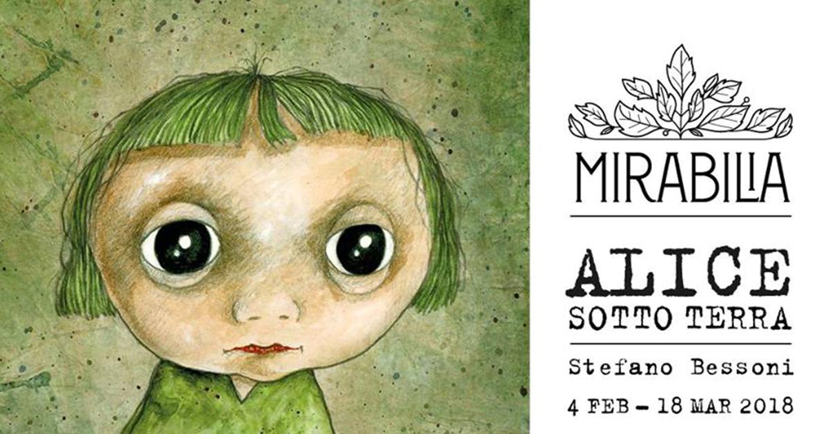 Stefano Bessoni a Mirabilia: Alice sotto terra
