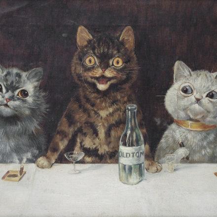 I gatti antropomorfi di Louis Wain