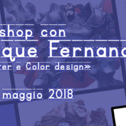 Workshop di Character e Color design - con Enrique Fernández