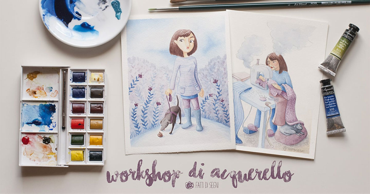 Workshop di acquarello – con Irene Minissale