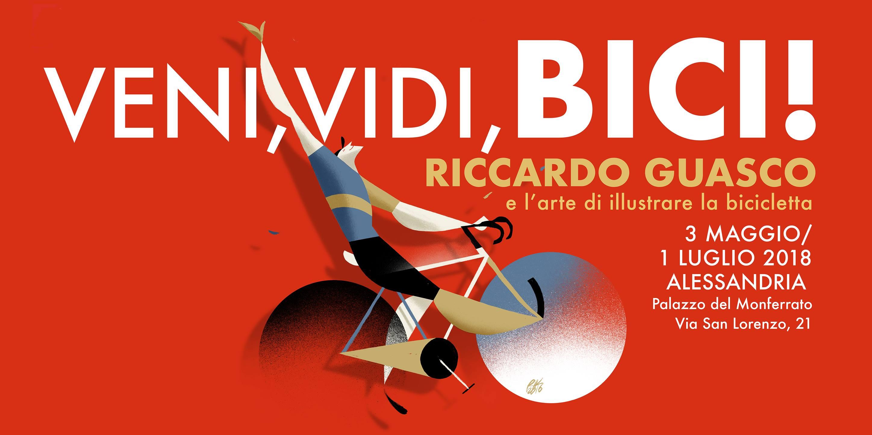 Veni Vidi Bici! L'arte di illustrare la bicicletta – Riccardo Guasco