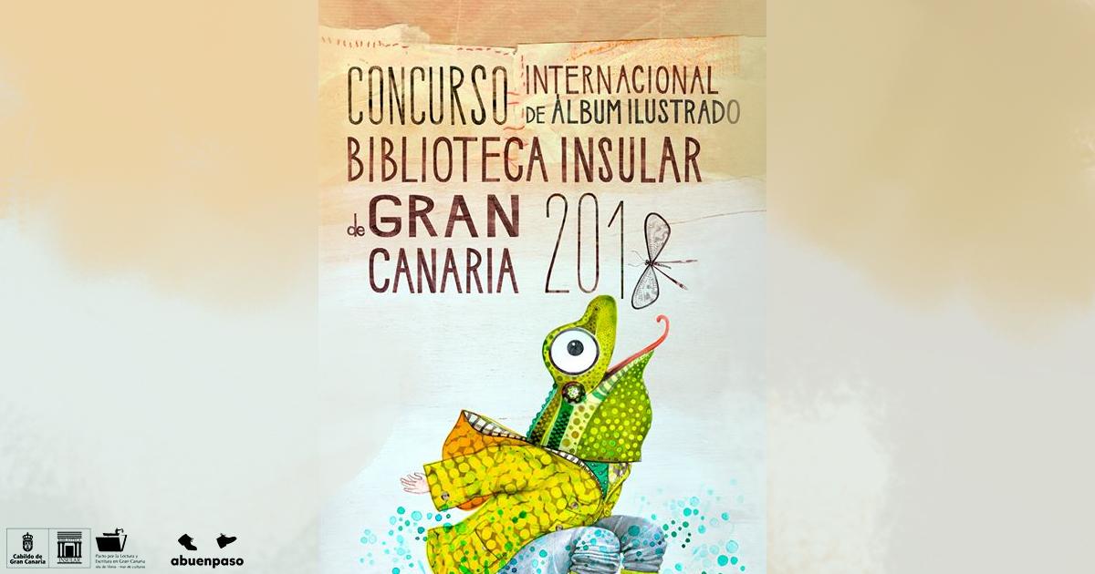 Concorso per albo illustrato Biblioteca Insular de Gran Canaria 2018