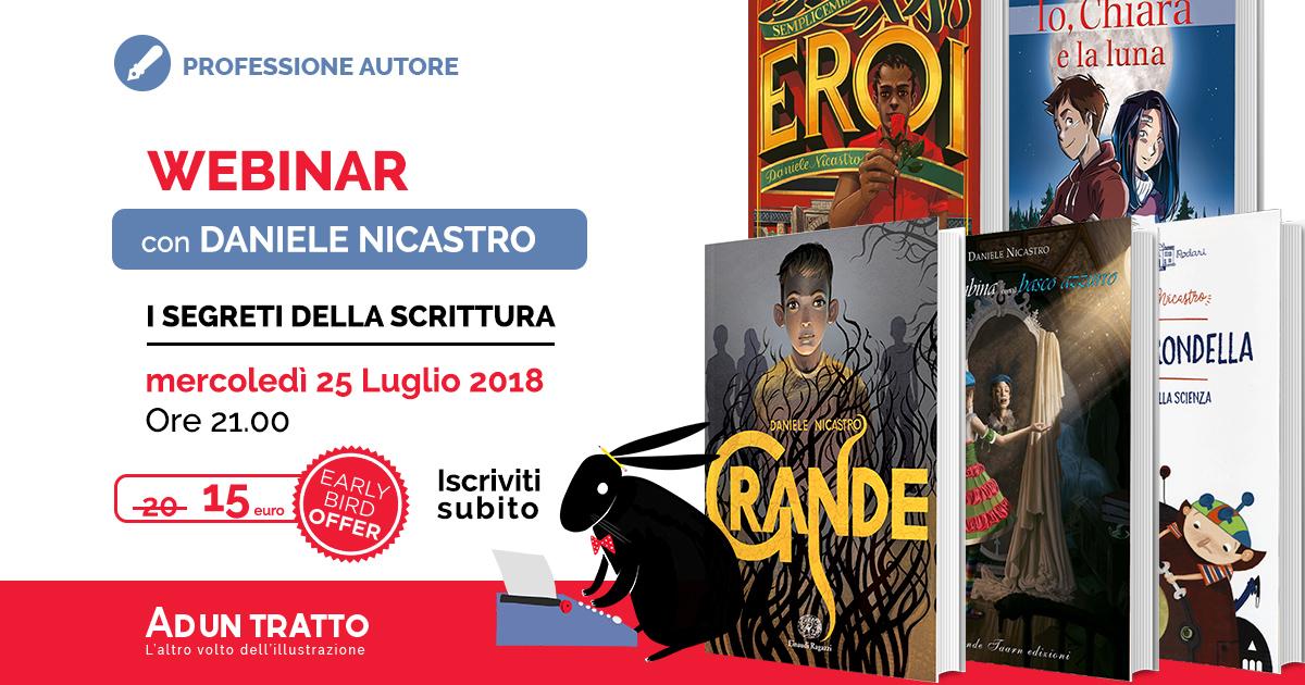 Professione autore – I segreti della scrittura con Daniele Nicastro