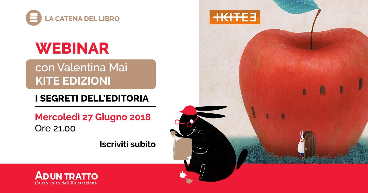 La catena del libro – I segreti dell'editoria con Valentina Mai, Kite Edizioni