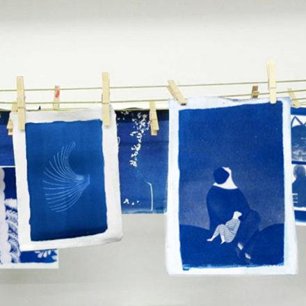 Cianotipia, usare la luce per illustrare - con Violeta Lopiz