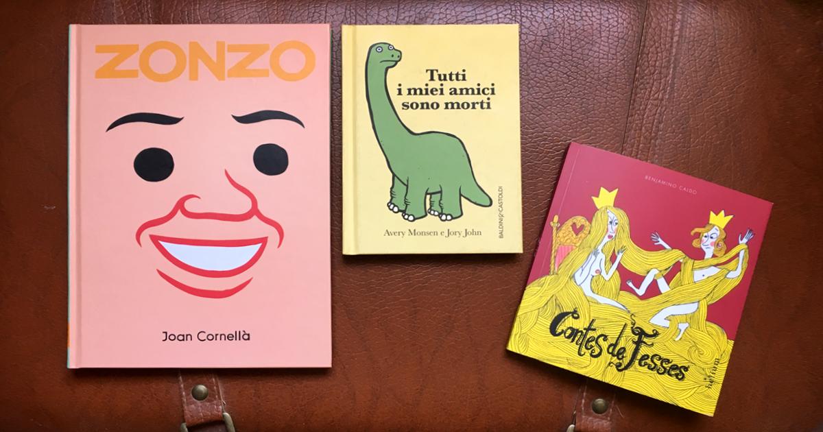 WONDER TRIO: 3 libri per ridere coi disegni… da grandi