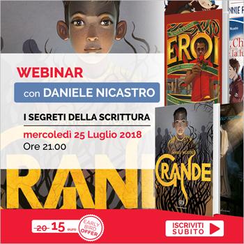 Professione autore - I segreti della scrittura con Daniele Nicastro