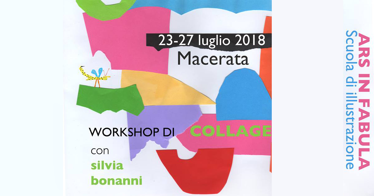 Corso di illustrazione a collage con Silvia Bonanni