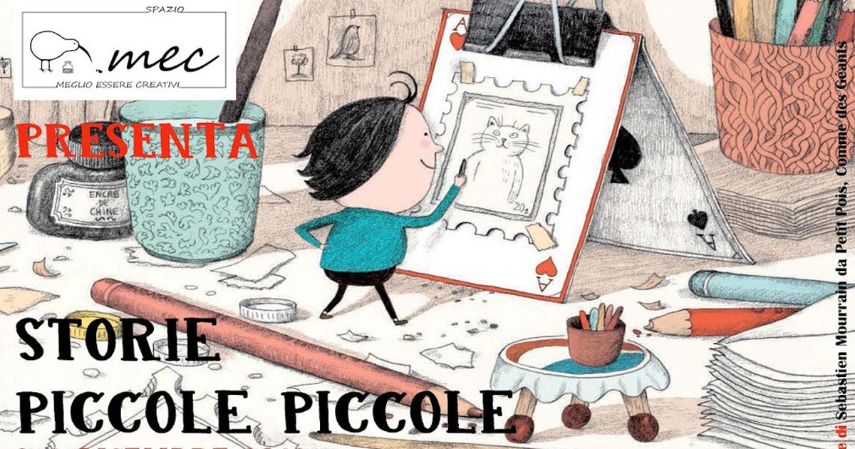 Storie Piccole Piccole – Workshop di scrittura con Davide Calì