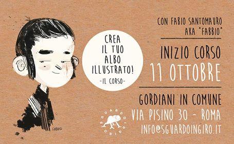 Crea il tuo albo illustrato! – con Fabio Santomauro (Fabbio)
