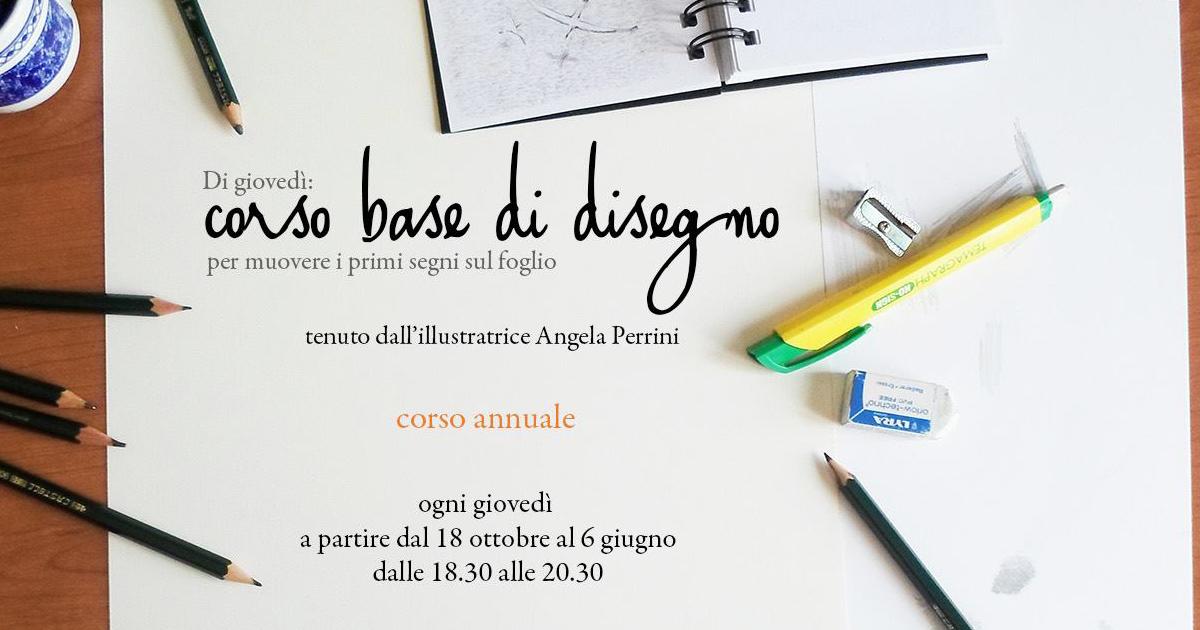 Corso base di disegno – con Angela Perrini