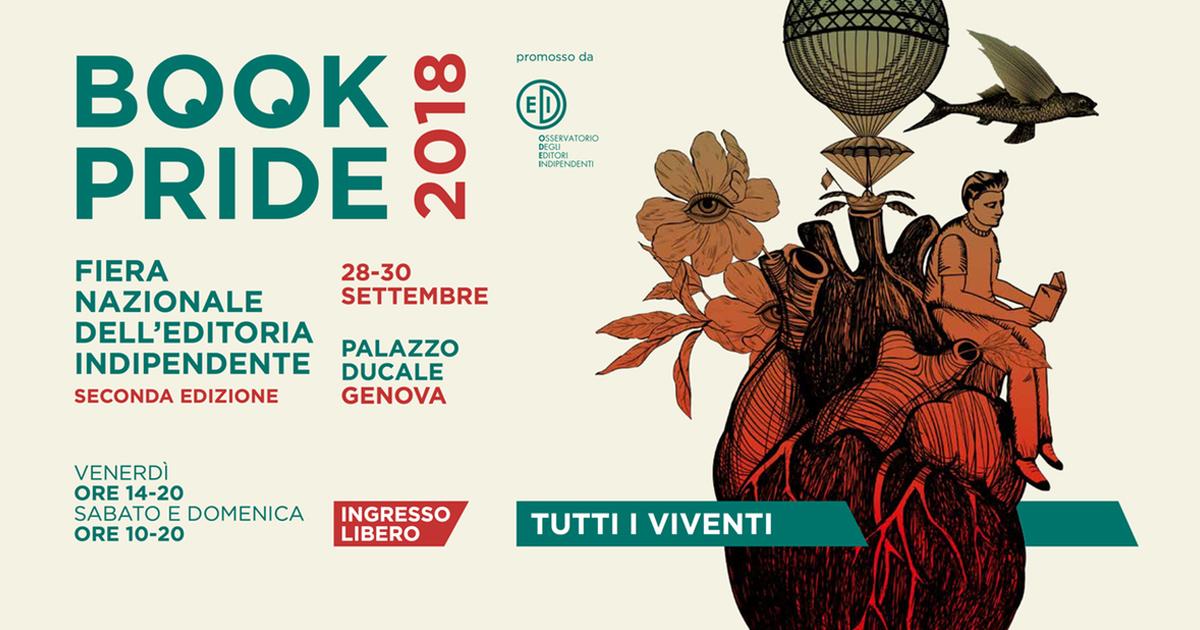 Book Pride Genova – Fiera dell'editoria indipendente