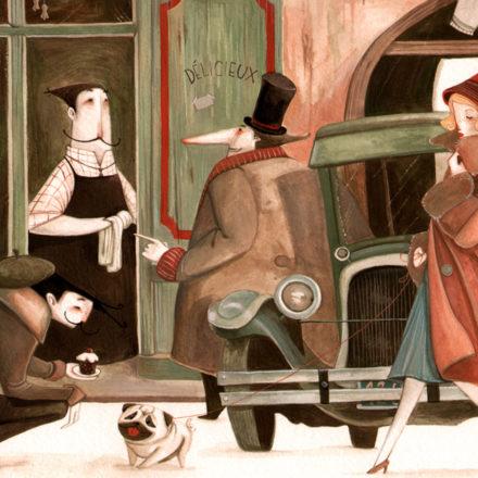 Corso illustrazione II livello - con Daniela Volpari