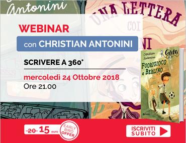 Scrivere a 360° Scopriamo i segreti della scrittura Christian Antonini