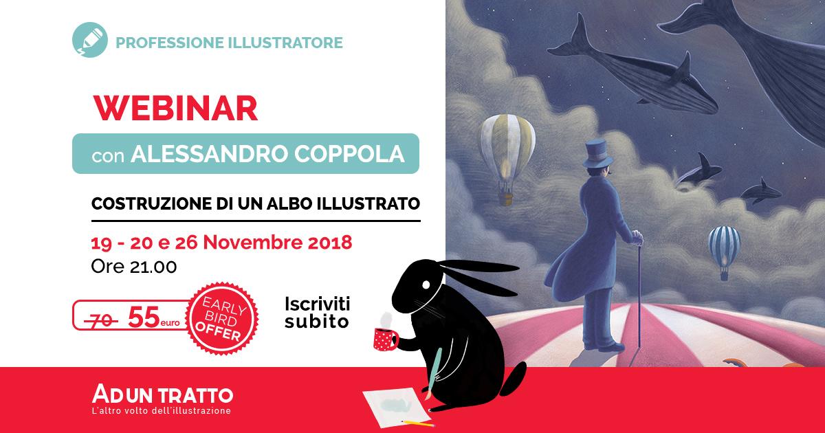 Viaggio all'interno di un albo illustrato – con Alessandro Coppola