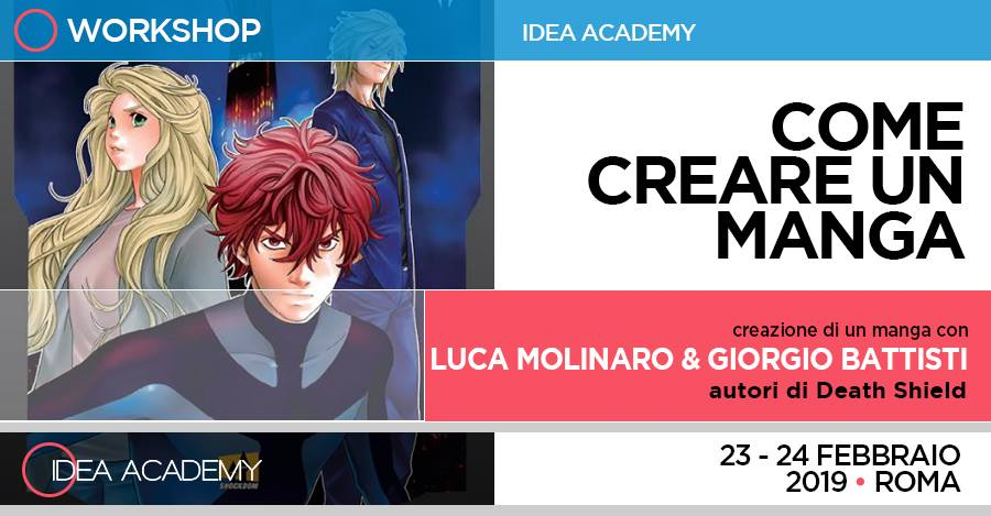 Come creare un Manga – con Luca Molinaro e Giorgio Battisti