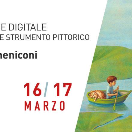 Illustrazione digitale - photoshop come strumento pittorico con Paolo Domeniconi