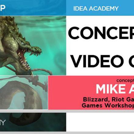 Concept Art for Video Games - con Mike Azevedo