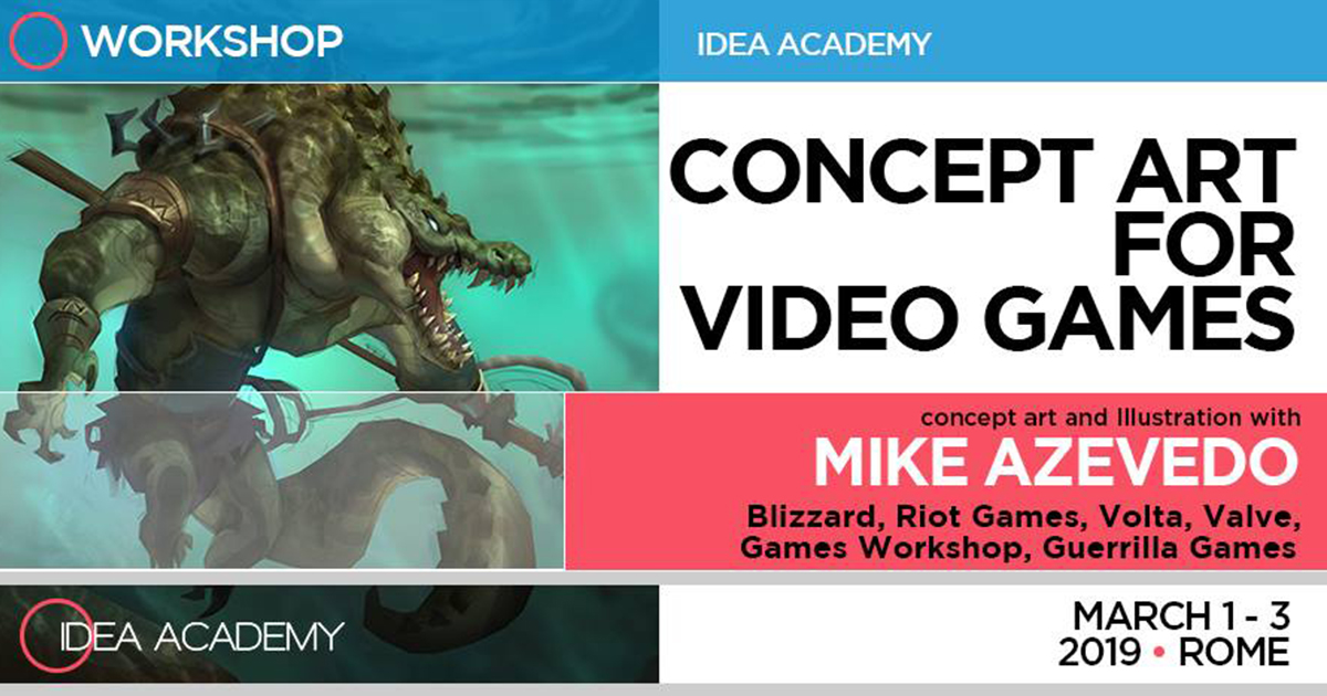 Concept Art for Video Games – con Mike Azevedo