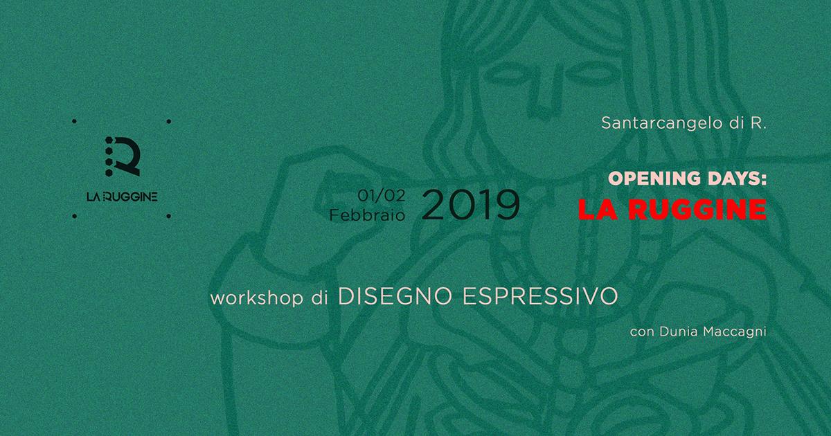 Workshop di Disegno Espressivo