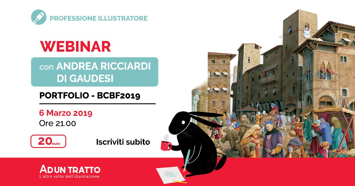 Portfolio – Come prepararsi alla BCBF2019 – con Andrea Ricciardi di Gaudesi