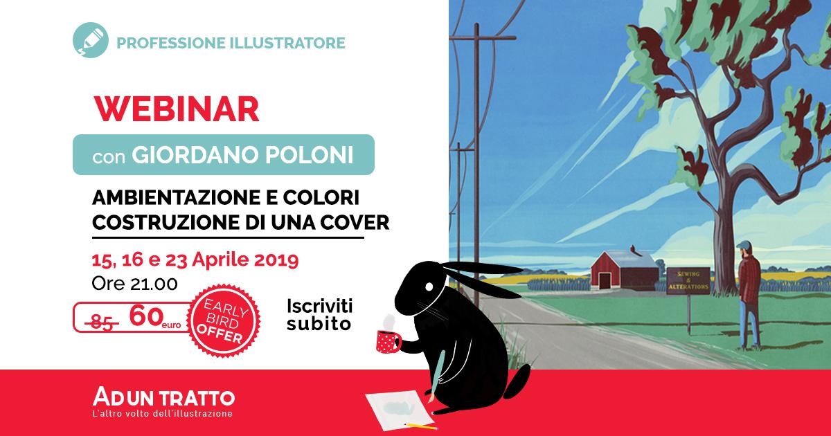 Ambientazione e colori, costruzione di una Cover con Giordano Poloni