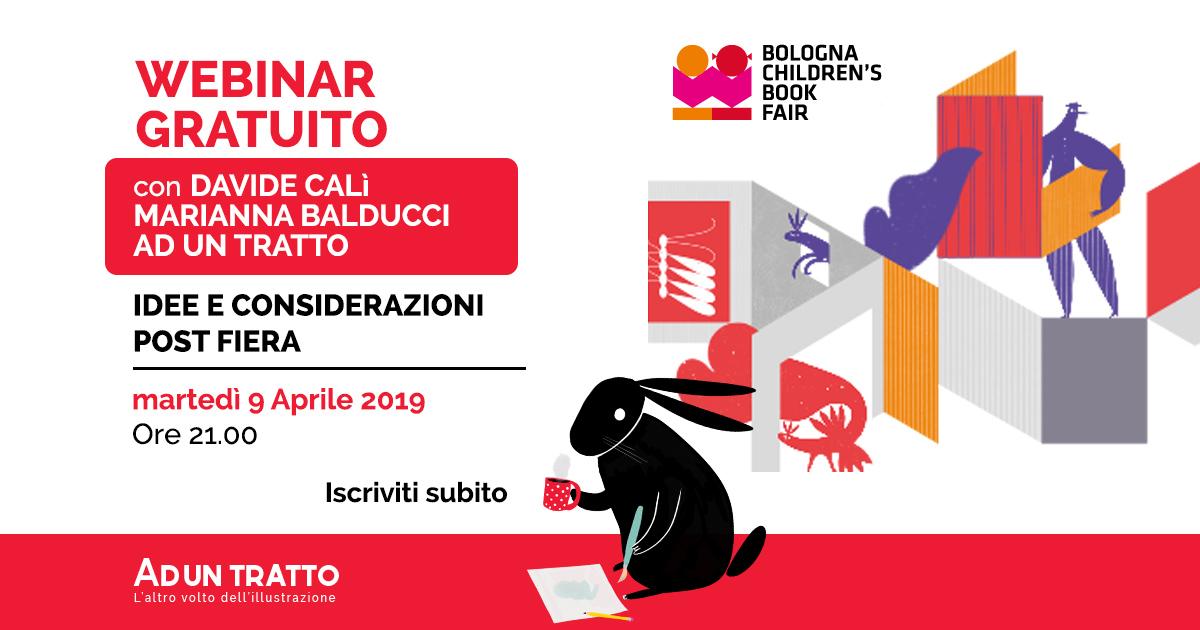 BCBF19 – Considerazioni post fiera con Davide Calì e Marianna Balducci