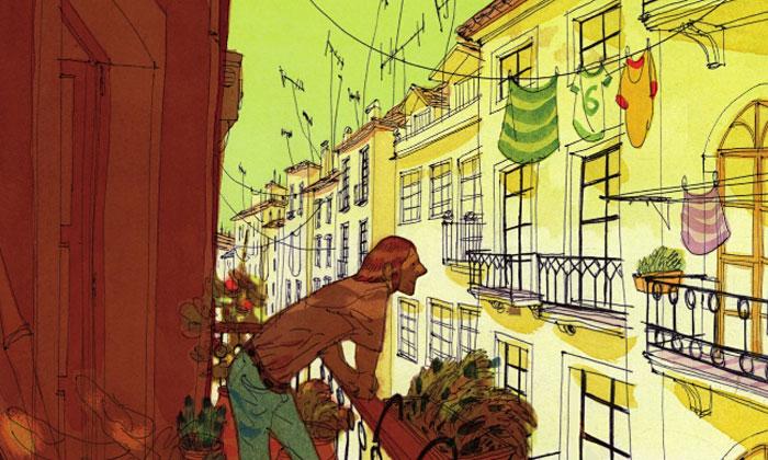 Portugal di Cyril Pedrosa: viaggio visivo ed emotivo nelle sfumature della memoria