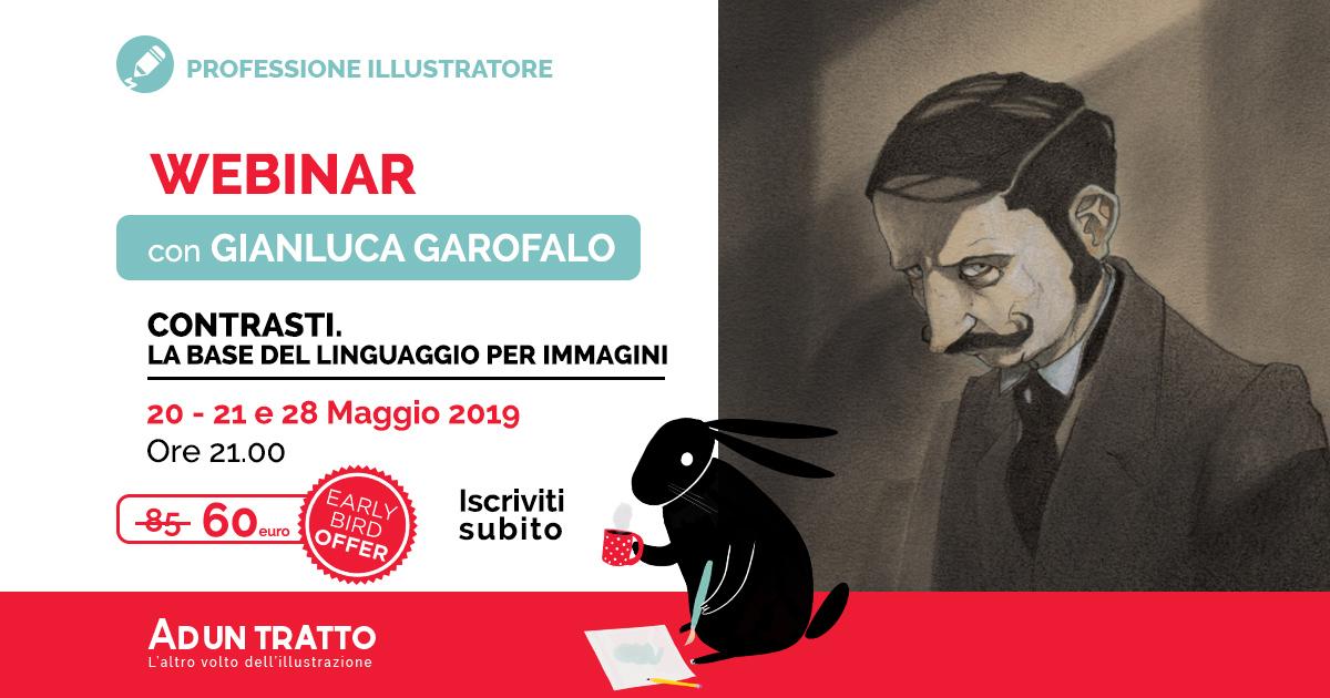 Contrasti: La base del linguaggio per immagini – con Gianluca Garofalo