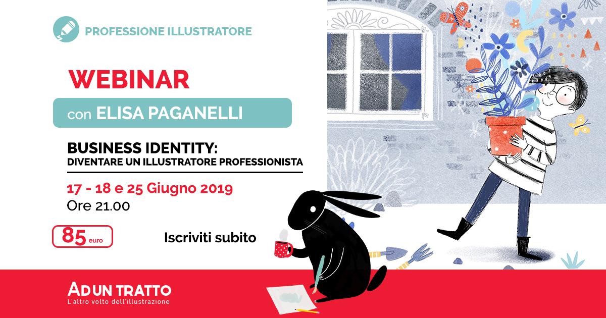 Business Identity: Diventare un illustratore professionista con Elisa Paganelli