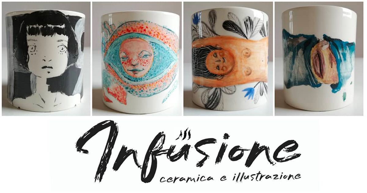 Infusione: Ceramica e illustrazione allo Studio Nautilus di Carrara