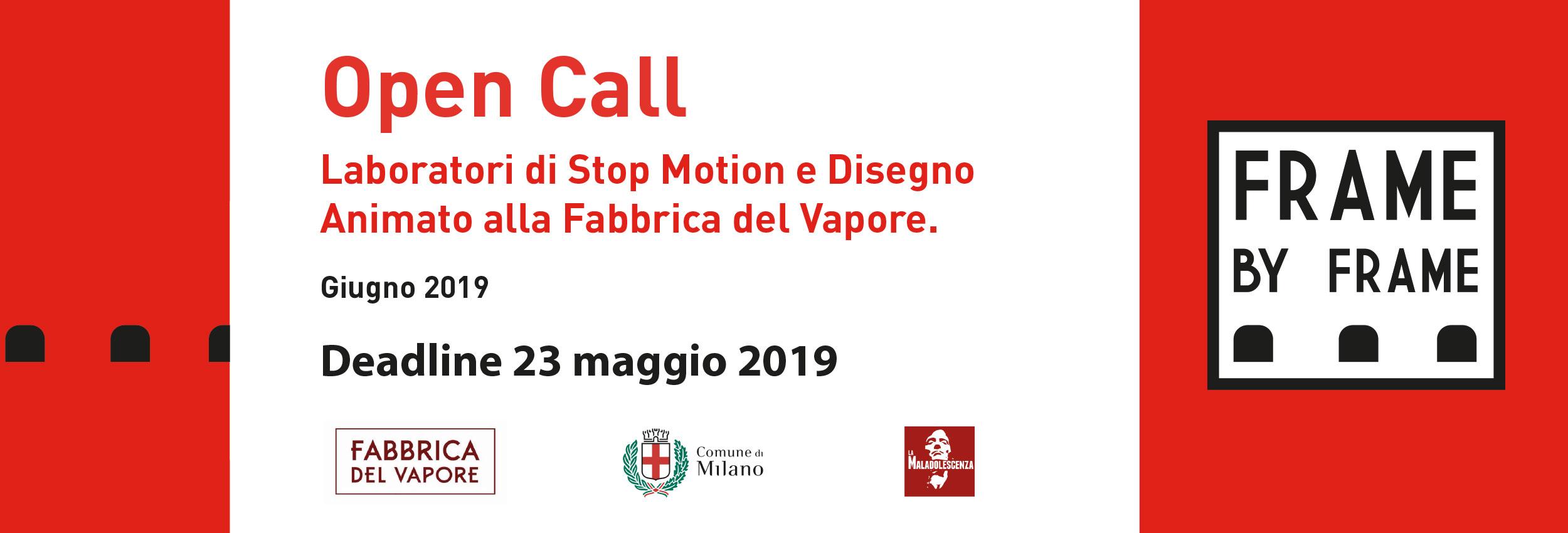 Open Call Frame by Frame – Laboratori artistici a Milano